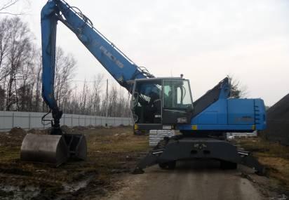 MHL 340 E do przeładunku węgla