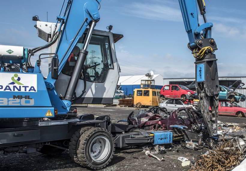 System do demontażu pojazdów PAKIET CDS SCORPION
